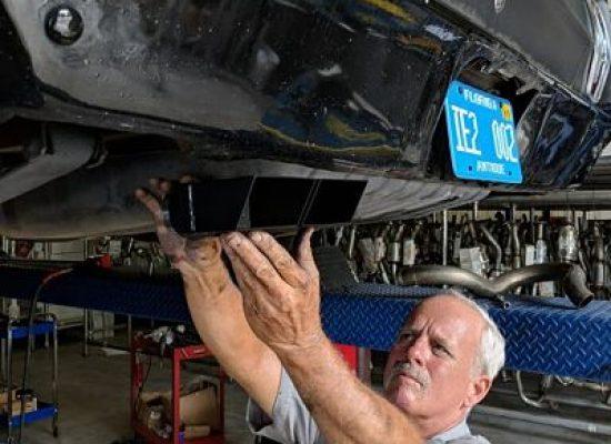 expert exhaust system installation daytona converter